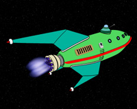 Futurama - Planet Express Ship